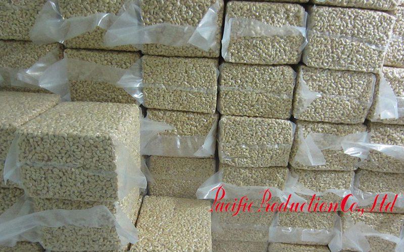 Lô hạt điều chuẩn bị xuất khẩu của công ty Thái Bình Dương
